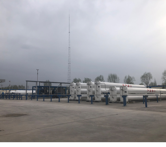 Hydrogen Fuel Cell Vehicle On-Site Hydrogen Generation and Refueling Station Equipment