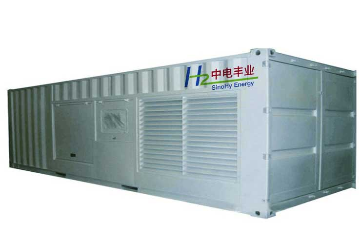 Solar hydrogen generation, energy storage and power generation (fuel cell) project