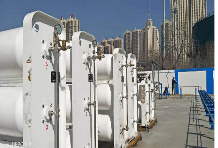 Datong on-site hydrogen generator and refueling station with capacity of 500kg/day