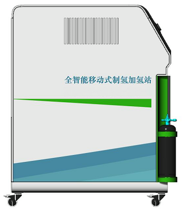 35MPa High-pressure mobile hydrogen generation, storage & refueling system